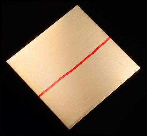 적색 황동 20 게이지 시트 - 6 x 6/Red Brass 20 Gauge Sheet - 6..