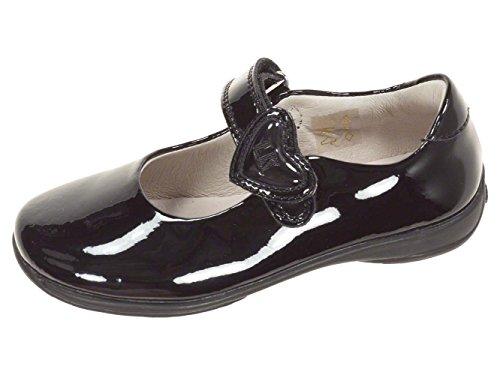 Lelli Kelly LK8500 (DB01) Colourissima Black Patent School Shoes F Fitting-33 (UK 1)