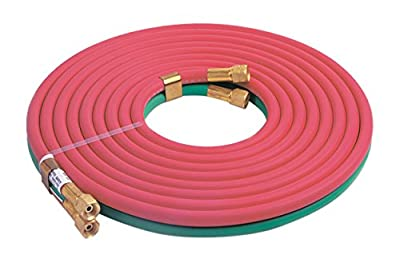 """Lincoln Electric KH578 Oxy-Acetylene Hose, 1/4"""" x 25"""
