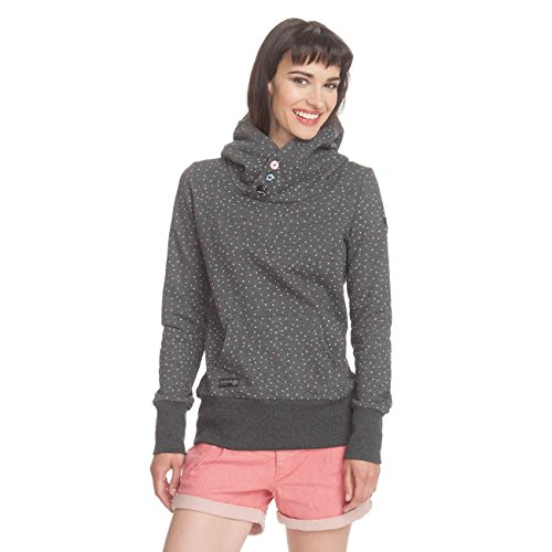 Ragwear-Sudadera para mujer gris