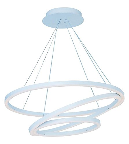 Pendant Cirque Collection (Matte White 31.5In. Wide Led Pendant From The Cirque Collection)
