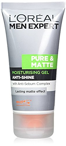 L'oreal Men Expert Pure And Matte Anti-shine Gel Moisturiser
