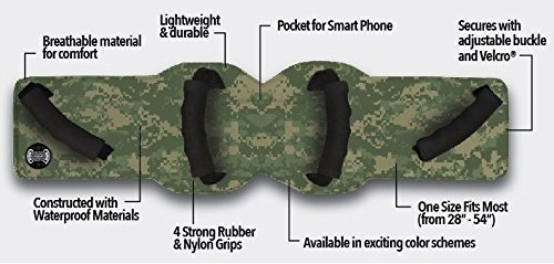 Grip-n-Ride Solid unisex-adult Passenger Safety Belt (Camouflage,Standard: 28'' to 54'') by Grip-n-Ride (Image #2)
