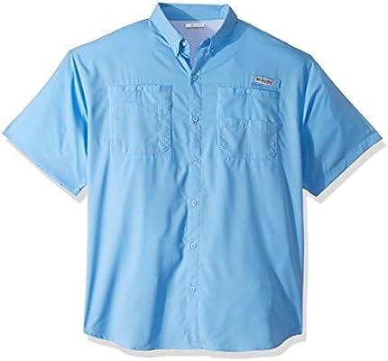 Columbia Camisa de Manga Corta para Hombre Tamiami II Tamiami II, Hombre, 1287051, White Cap, Small: Amazon.es: Deportes y aire libre