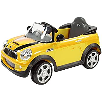 Amazoncom Rollplay MINI Cooper 6Volt BatteryPowered RideOn
