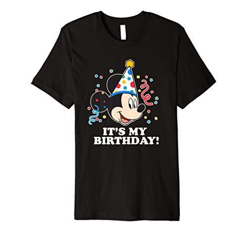 Disney Mickey Mouse It�s My Birthday Premium T-Shirt