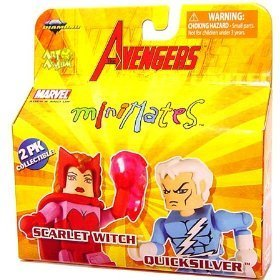 Marvel MiniMates Series 16 Avengers 2-Pack Scarlet Witch & Quicksilver