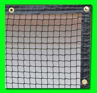 Golf Net 9' x 15' Golf Hitting Net, Commercial Grade with Borders and Grommets. High Velocity Hang and Hit Golf Ball Impact Panel, Made for Real Golf Balls! Golf Practice Net Panel By Dura-Pro by Dura-Pro High Velocity Net Panels (Image #1)