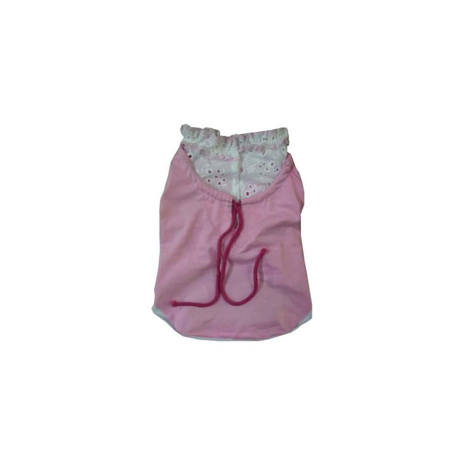 Pink   Dog Puppy Pet Clothes Jacket Coat Apparel  Small