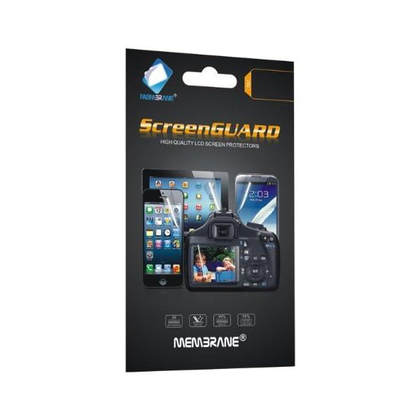 Membrane 3 x Protector de Pantalla compatibles con Nokia Lumia 520 - Ultra Transparente 2