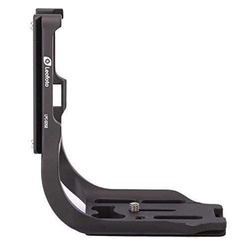 LEOFOTO LPC-5DSB Dedicated L Plate for Canon EOS 5DS Camera w Battery Grip Arca / RRS Lever Clamp Compatible