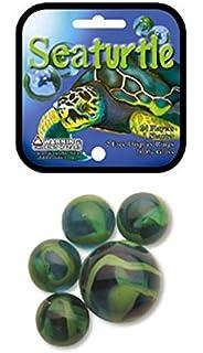 SUN Game Net Set 25 Piece Glass Mega Marbles Toy