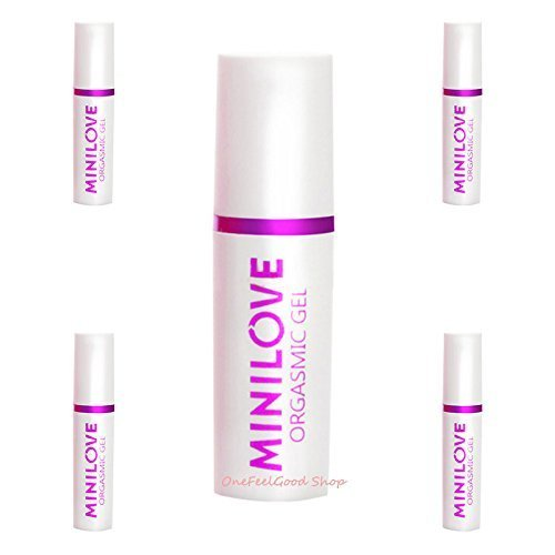 5 of Minilove Orgasmic Gel for Women, Love Climax Spray, Strongly Enhance Female Libido Net wt. 10 ml. (Pack of 5 pcs.) by Mini Love