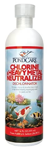 Outdoor API Pondcare Chlorine and Heavy Metal Neutralizer, 16-Ounce Size: 16-Ounce, Model: 141B, Garden Store, Repair & - Heavy Metal Neutralizer