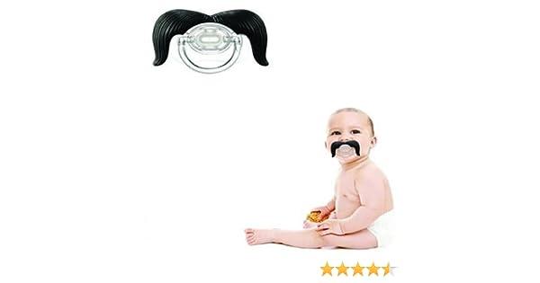 Generic - Chupete para bebé con bigote de vaquero: Amazon.es: Bebé