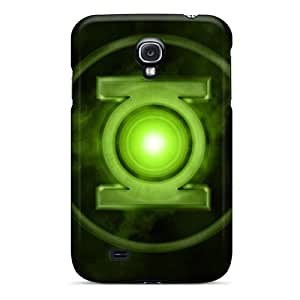 Samsung Galaxy S4 SuZ18387VCLi Support Personal Customs Beautiful Green Lantern Image Scratch Protection Hard Cell-phone Case -SherieHallborg