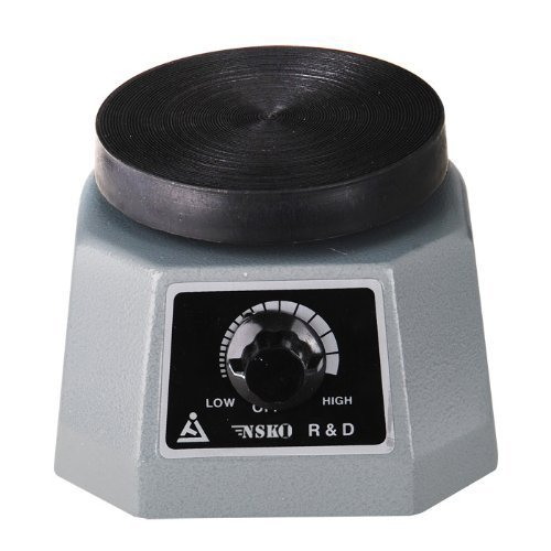 NSKI Dental Lab Vibrator 4'' Round Dentist Equipment by NSKI