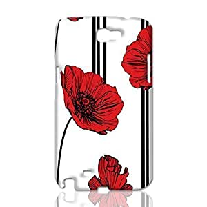 Poppy Wallpaper 3D Rough Skin, fashion image custom, hard 3D , New For HTC One M7 Case Cover By Codystore