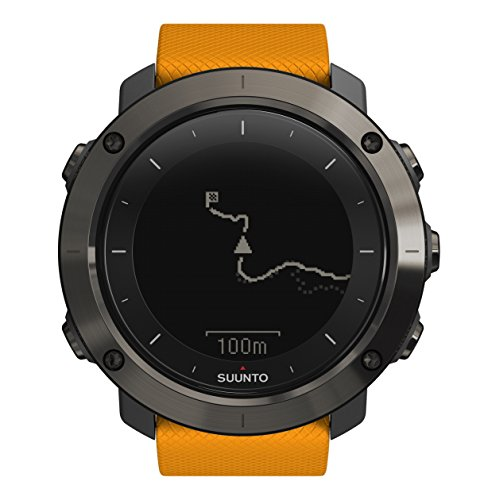 Suunto Traverse GPS Outdoor Hiking Watch with Versatile Navigation Functions and Wearable4U Ultimate Power Pack Bundle (Amber) by Wearable4u (Image #2)