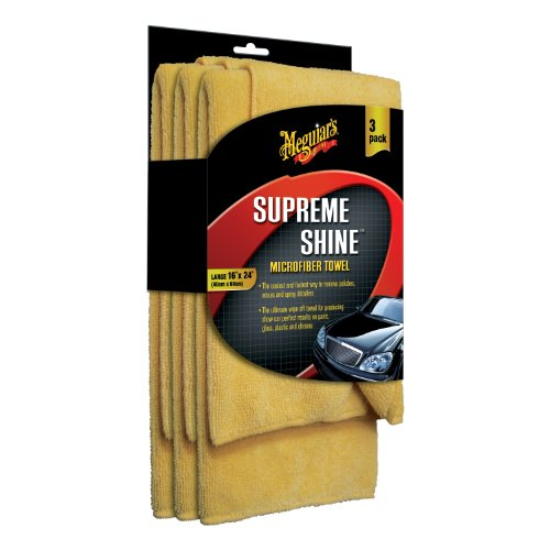 Meguiars X2020 Supreme Shine Microfiber Towels (Pack of 3)