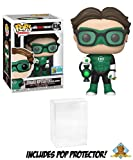Leonard Hofstadter as Green Lantern Big Bang Theory SDCC 2019 ComicCon Limited Edition Exclusive Featuring Golden Groundhog Plastic Protector Bundle