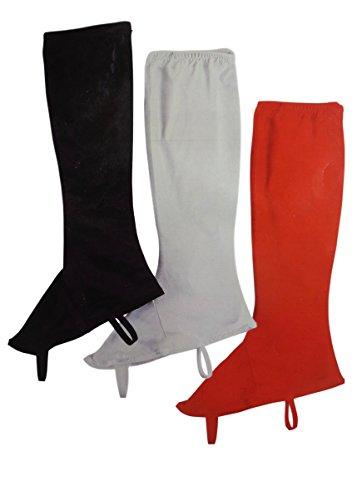 Rubie's Costume Co Ladies' Stretch Boot Tops Costume, Black, ()