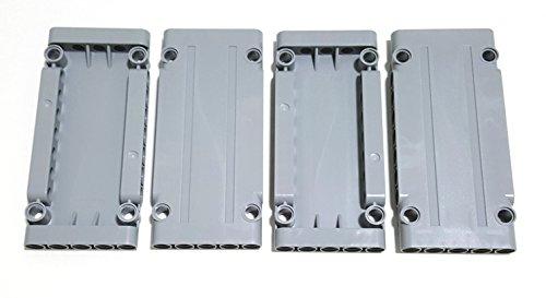 LEGO Technic Flat Panel 5 x 11 (64782) Medium Stone Gray 4 pack