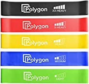 Resistance Loop Exercise Bands, Polygon Workout Flexbands for Physical Therapy, Rehab, Stretching, Home Fitnes
