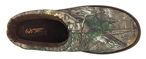 Image of Realtree Men's 900D Nylon X-Tra Mini Camo Print, Clog Slipper, X-Large / 13-14