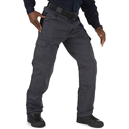 5.11 Tactical Men's Taclite Pro Pants, Poly-Cotton Ripstop, Teflon Treatment, Charcoal, 30Wx34L, Style 74273