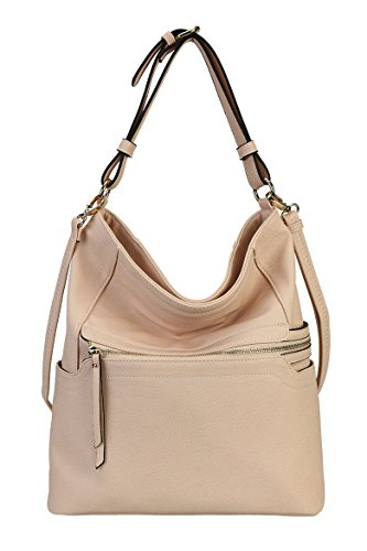 rimen-co-pu-leather-simpilicity-front-zipper-causal-hobo-womens-purse-handbag-jq-1864-nude