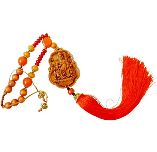 Jurojin God of Wisdom and Longevity Traditional Hanging Talisman or Religious House Blessing Seven Lucky Gods