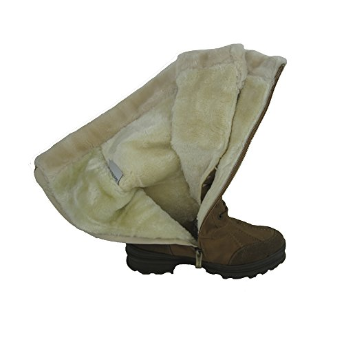 Women Winter Boots Comfy Moda Century Size 6-12 (9, Tan)