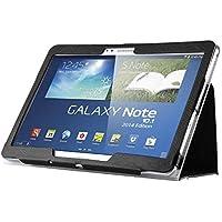"""Capa Agenda Magnética Para Tablet Samsung Galaxy Note 10.1"""" (2014) SM-P600 / P601 / P605"""