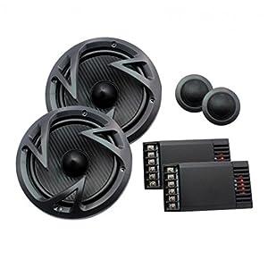 "Power Acoustik EF-60C 6.5"" 2-Way Component Speaker 250W"