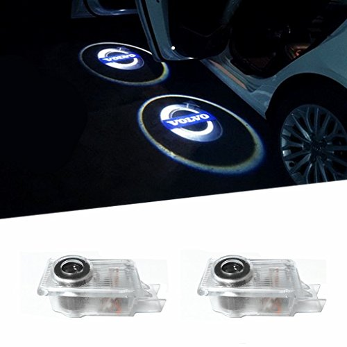 Door Lighting Car Door Projector Shadow Logo Light for Volvo (2pcs)