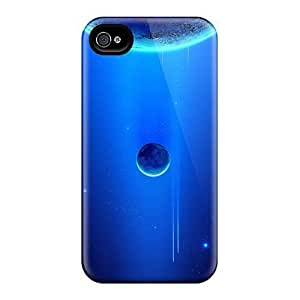 High Quality Evanhappy42 Space Scene Blue Planets Skin Cases Covers Specially Designed For Iphone - 6plus