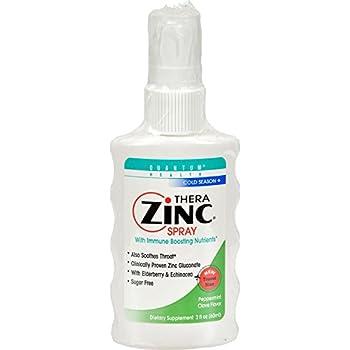 Amazon Com Quantum Health Thera Zinc Spray 2 Ounce