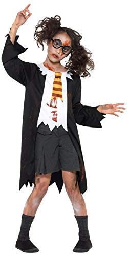 Zombie Student Costume Halloween School Girl Boys Fancy Dress