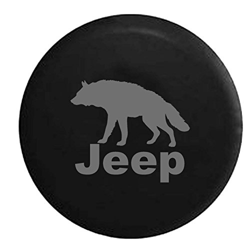 wolf jeep wheel cover - 2