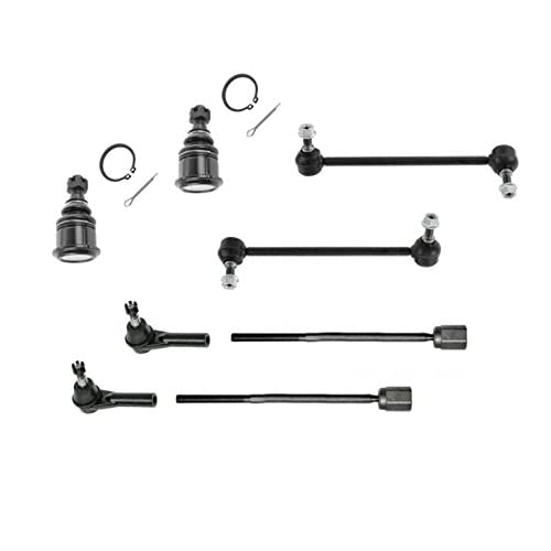 PartsW 4 Piece Kit Front Lower Ball Joints Front Right and Left Sway Bar End Links