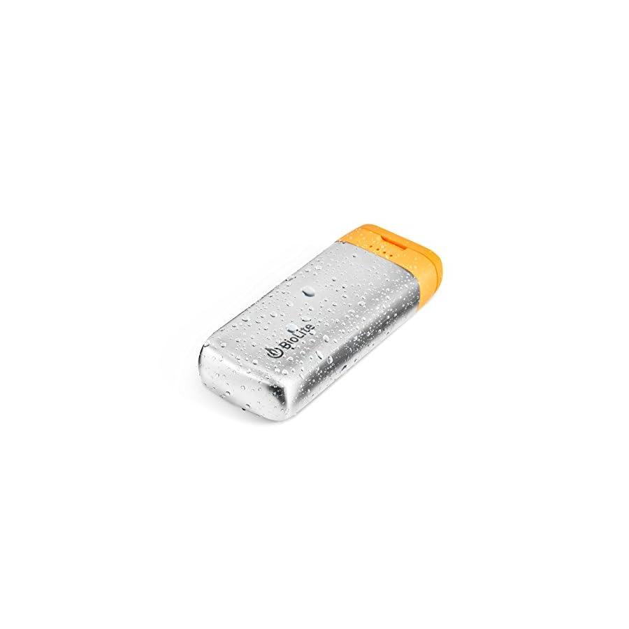 BioLite Charge 20 Portable Weatherproof 5200mAh USB Power Bank