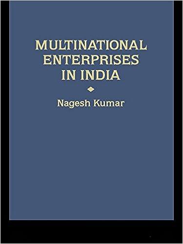 Download Multinational Enterprises in India: Industrial
