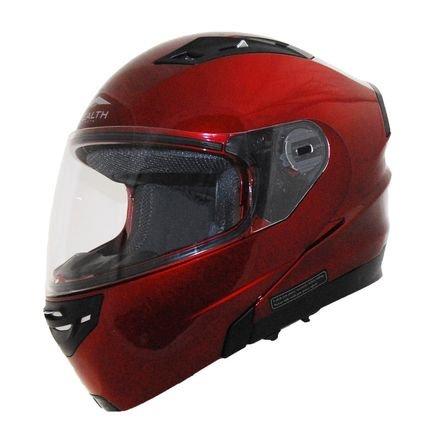 Candy Modular Red Helmet - Vega Vertice Modular Helmet (SMALL) (CANDY RED)