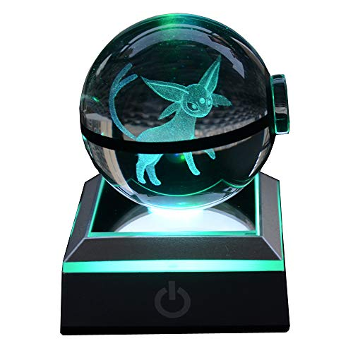 Color Changing Crystal Ball Led Night Light Lamp