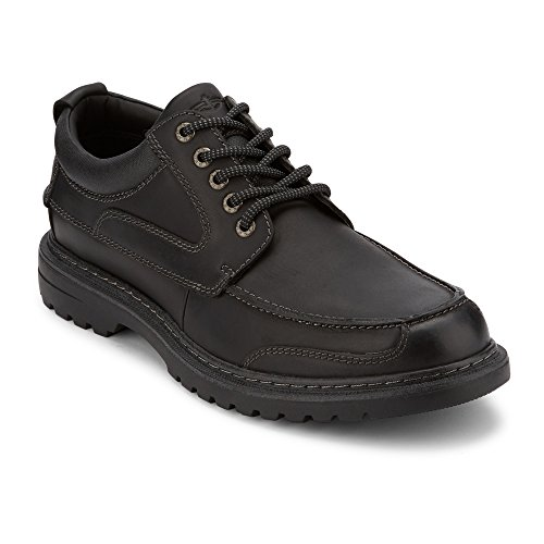 Dockers Mens Overton Leather Rugged Casual Oxford Shoe with NeverWet ()