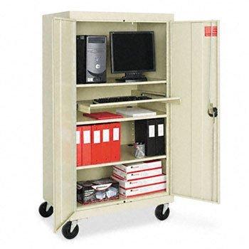 Alera® Fully Enclosed Mobile AV Cabinet, 66