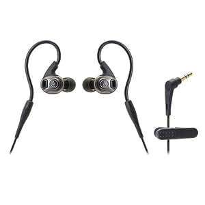 Audio-Technica ATH-SPORT3BK SonicSport In-Ear Headphones, Black