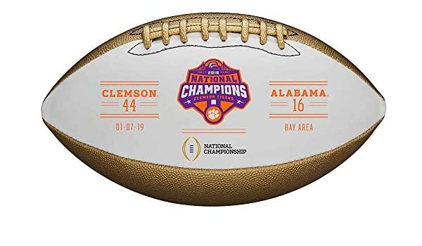 WILSON Clemson Tigers College Football Playoff 2018 National ...