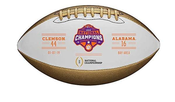 WILSON Clemson Tigers College Football Playoff 2018 National ...